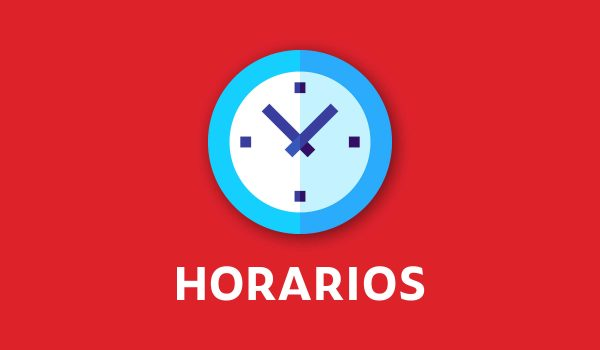 Horario Clases On Line Semana 22 de Marzo 2021